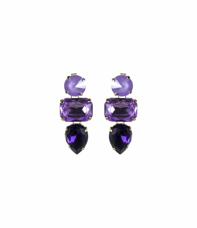 Paviè Earring Anastasi Purple