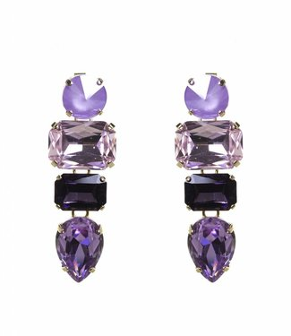 Paviè Earring Ana Purple