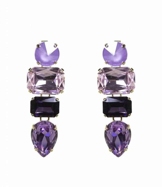 Paviè Earring Ana Purple