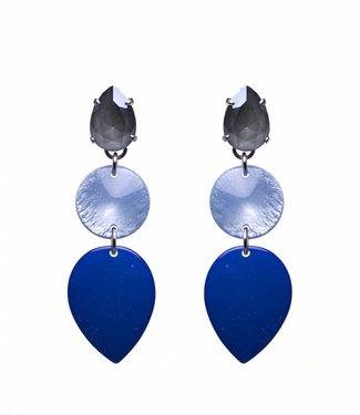 Paviè Oorbel Oceana Blue
