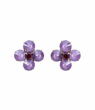 Paviè Earring Fiore Lila
