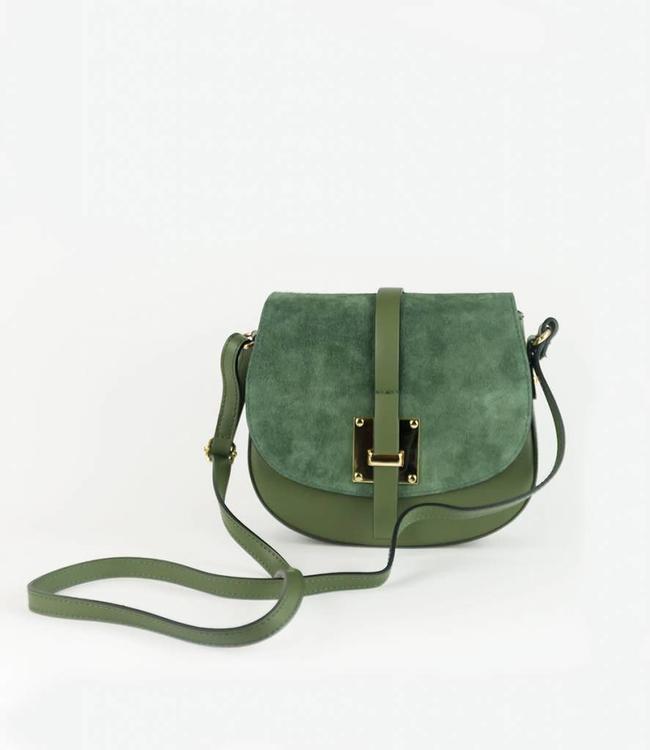 monnaluna Handbag Monica Khaki