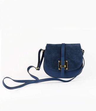 monnaluna Handbag Monica Navy