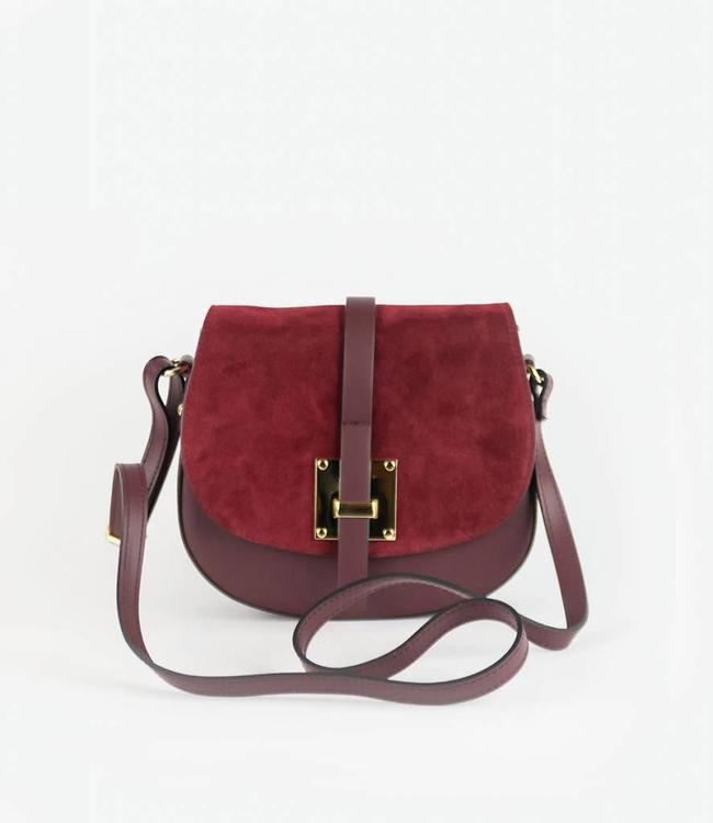 monnaluna Handbag Monica Bordeaux
