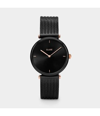 Cluse Watch Triomphe Mesh Black/Black