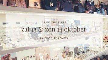 13 & 14 oktober: Babazou viert tienjarig bestaan!