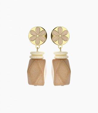 Souvenirs de Pomme Oorbel Yannick Nude