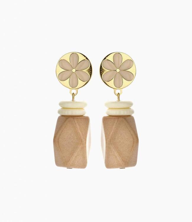 Souvenirs de Pomme Earring Yannick Nude