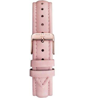 Rosefield Bracelet Montre Stitched pink rosegold