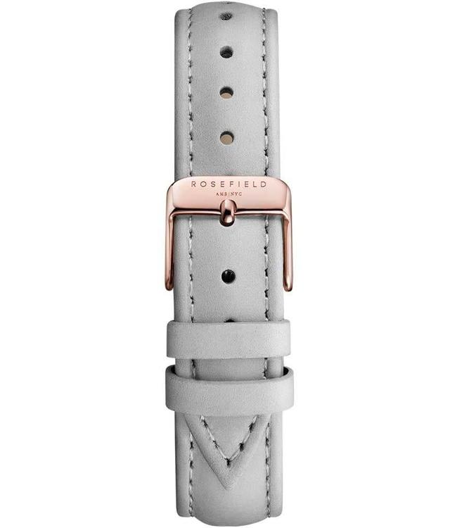 Rosefield Strap Stitched grey rosegold