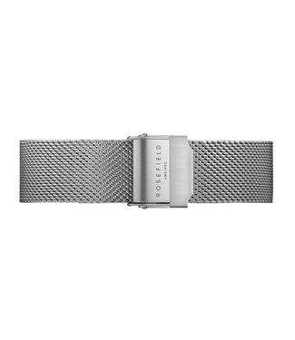 Rosefield Bracelet T mesh silver