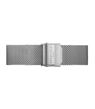 Rosefield Strap T mesh silver