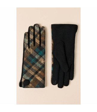 Pia Rossini Gloves Sinead Blue