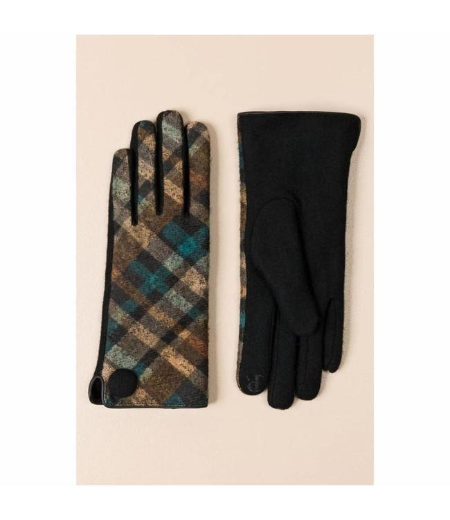 Pia Rossini Gloves Sinead Blue