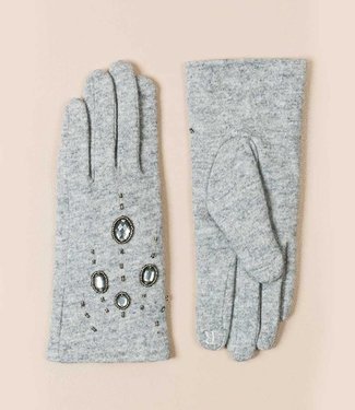 Pia Rossini Gloves Piper silver grey