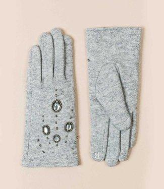 Pia Rossini Handschoenen Piper silver grey