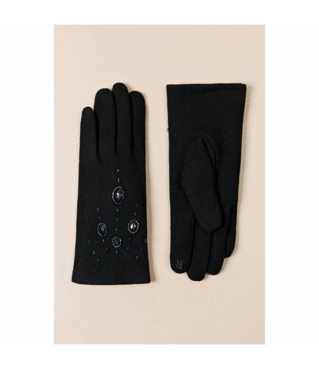 Pia Rossini Handschoenen Piper Black