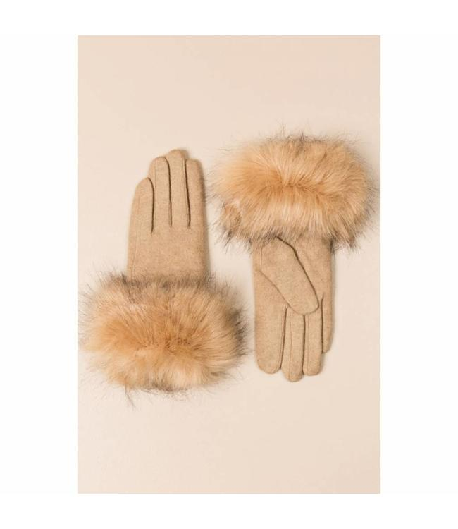 Pia Rossini Gloves Monroe Caramel