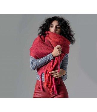 Pia Rossini Scarf Byrony Red