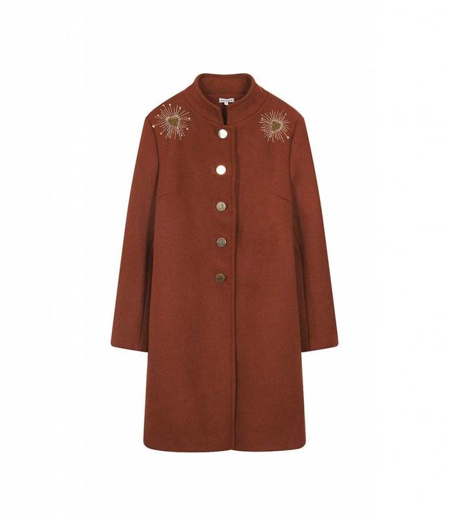Hipanema Coat Livia Chili
