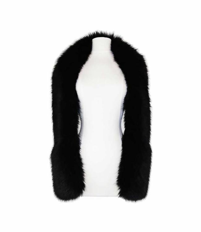 Miracles Scarf Courchevel Black