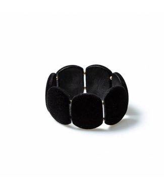 Laurence Delvallez Armband Shed Black