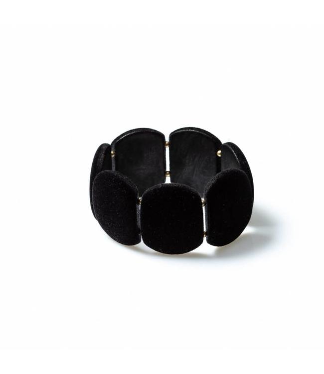Laurence Delvallez Bracelet Shed Black