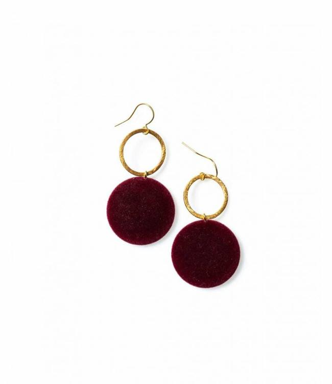 Laurence Delvallez Earring Vic Bordeaux