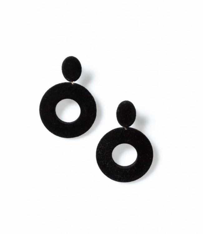Laurence Delvallez Earring Clove Black