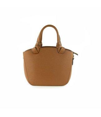 monnaluna Handbag Maggie Cognac
