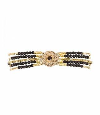 Hipanema Bracelet Shogun Black