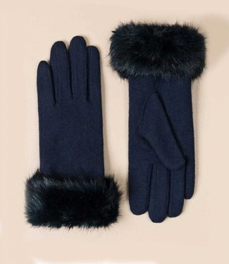 Pia Rossini Gloves Monroe Navy