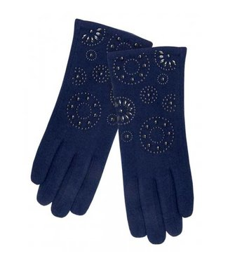 Pia Rossini Gloves Callie Navy