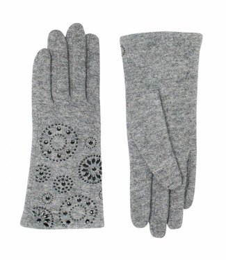 Pia Rossini Gloves Callie Charcoal