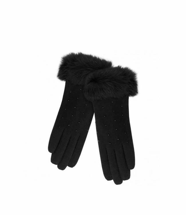 Pia Rossini Gloves Charlie Black