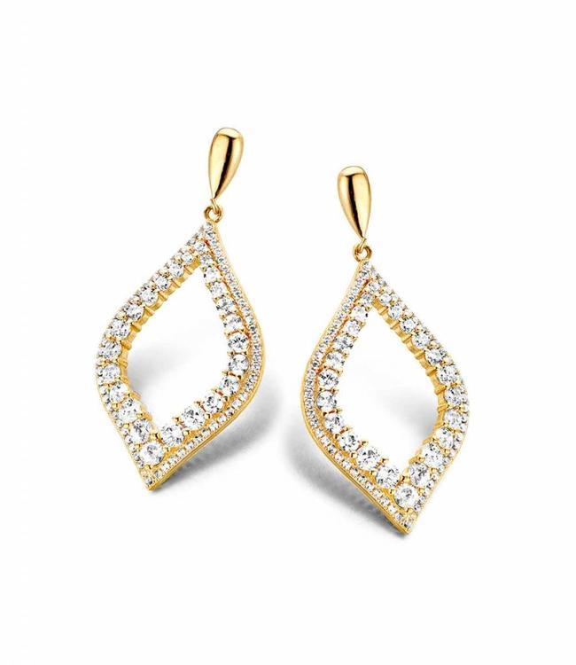 Silver Rose Earring Evita