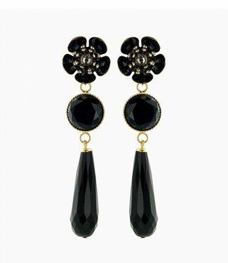 Souvenirs de Pomme Boucles d'oreilles Gina Black