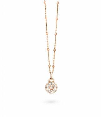 Silver Rose Collier Amelai Rose