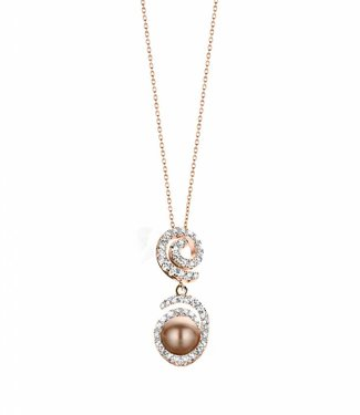 Silver Rose Collier Opium Rose