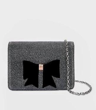 Ted Baker Handbag Jeminna Glitter Silver