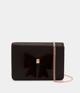 Ted Baker Handbag Jeminna glitter black