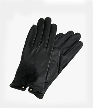 Ted Baker Gloves Nacy Pom Black