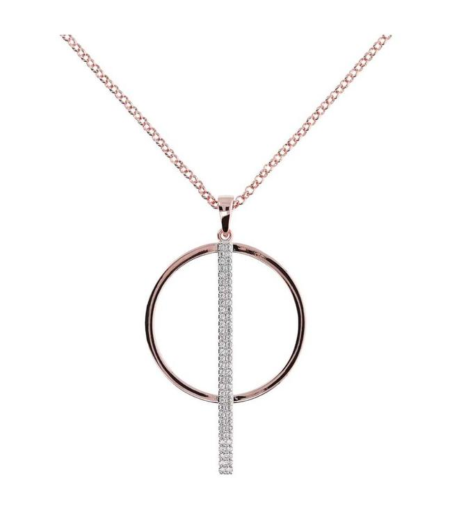 Bronzallure Necklace Round & Stick