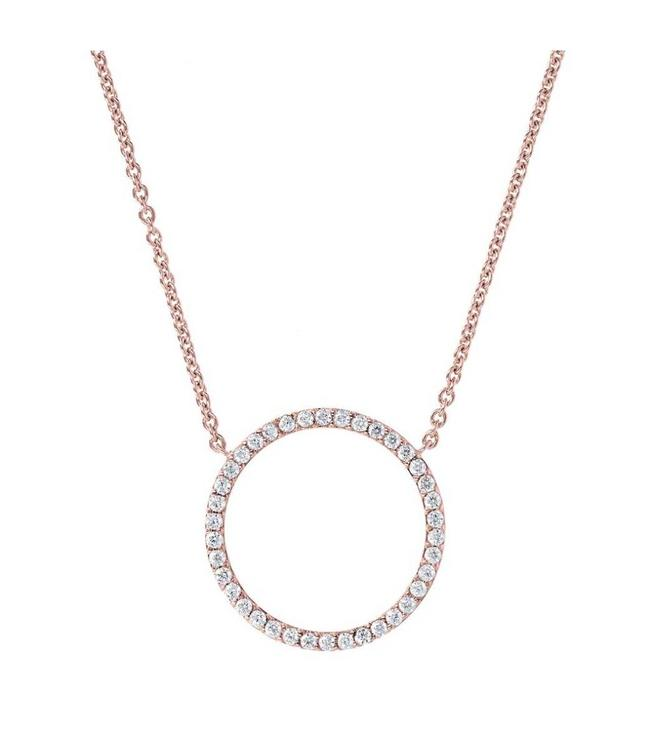 Bronzallure Collier Crystal Circle