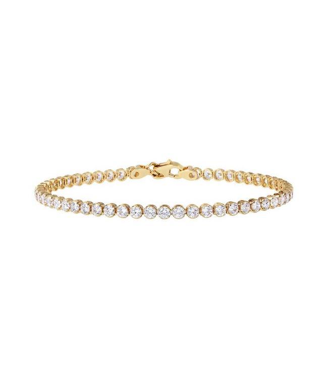 Bronzallure Bracelet Golden Tennis