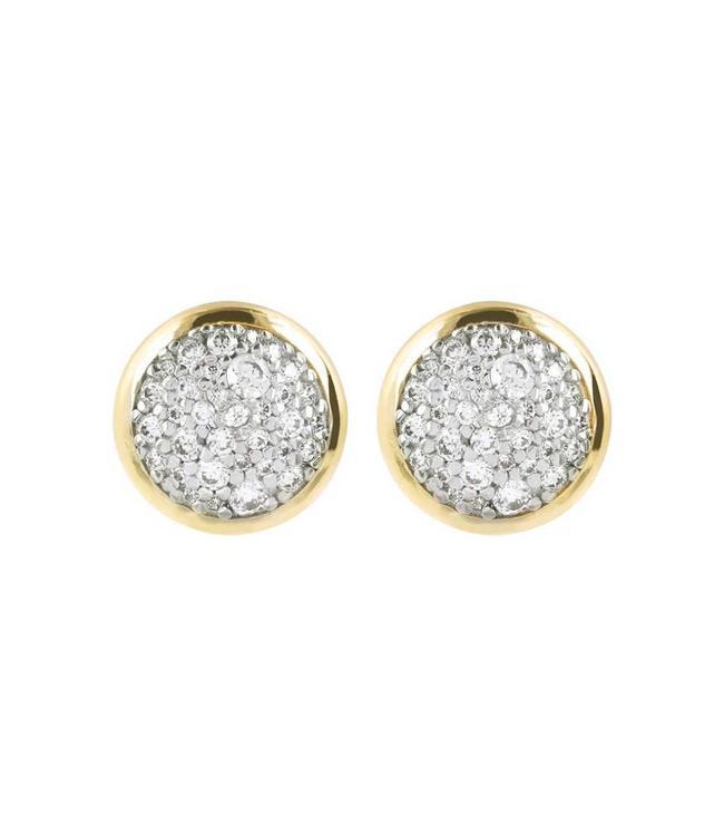 Bronzallure Boucles d'oreilles Minimal LightPoint Gold