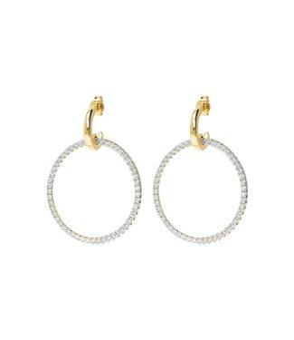 Bronzallure Earring Golden Shiny