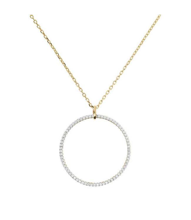 Bronzallure Necklace Golden Rolo