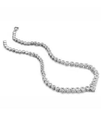 Silver Rose Necklace Evidence