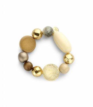 Souvenirs de Pomme Armband Flash Beaded Candy Light